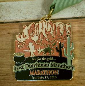 Lost Dutchman medal 2013
