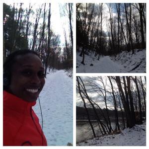 North County Trail - Snowy Run