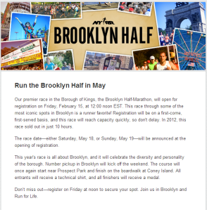 brooklyn half registration