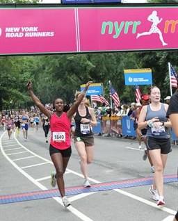 NYRR Women's 10K - 2011