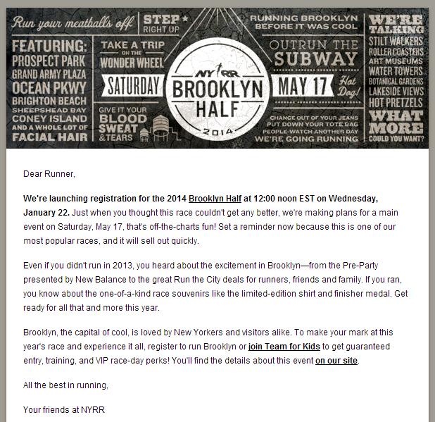 Brooklyn Half Marathon 2014