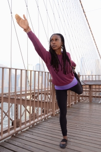 Kavisa Dancing Shiva Brooklyn Bridge