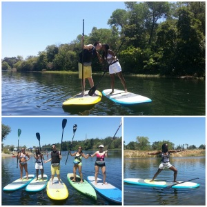 Stand Up Paddle on the American River