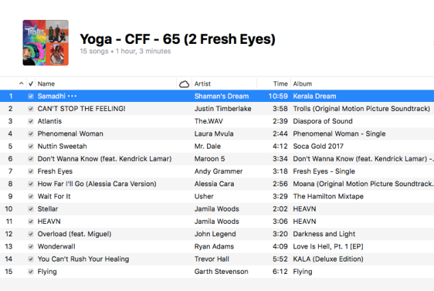 Yoga - 65 (2 Fresh Eyes)