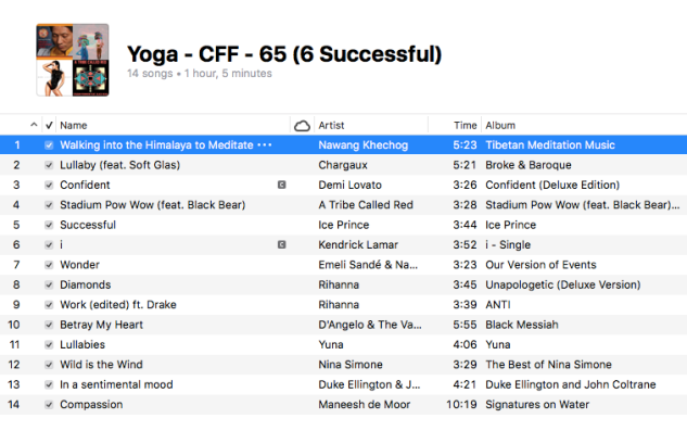 Yoga - 65 (6 Successful)