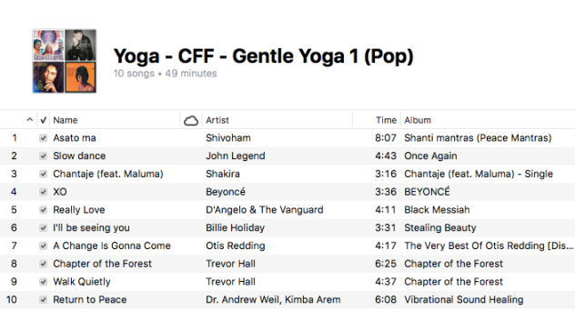 Yoga - Gentle Yoga (1 Pop)