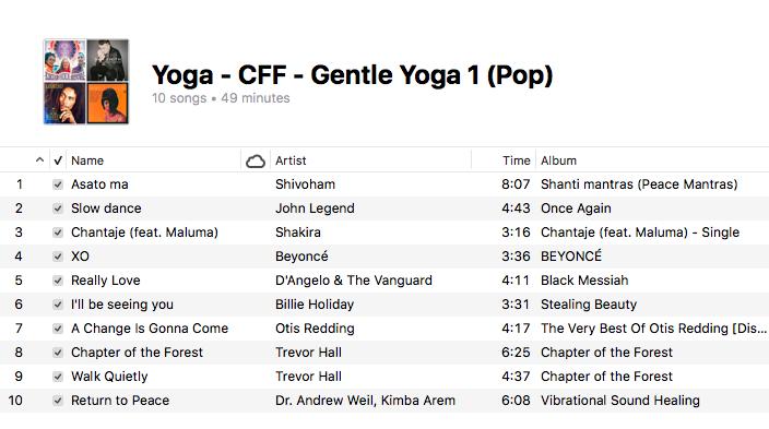 Yoga - Gentle Yoga (1 Pop)
