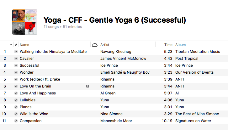 Yoga - Gentle Yoga (6 Successful)