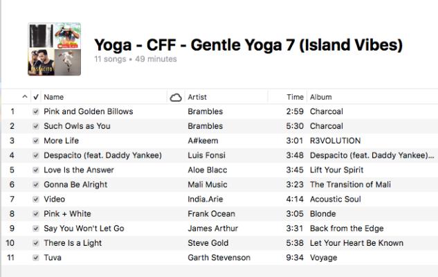 Yoga - Gentle Yoga (7 Island Vibes)